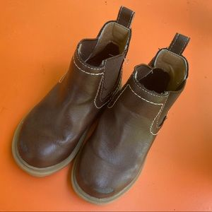 Brown Toddler Chelsea Boots